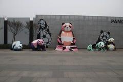 Chengdu badania baza Gigantycznej pandy hodowla, Chengdu, Sichuan, Chiny obrazy stock