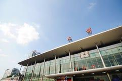 Chengdu-Bahnhof Stockbild