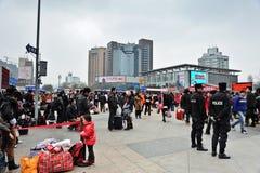 Chengdu-Bahnhof Stockbilder