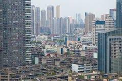 Chengdu - China, downtown Stock Photo