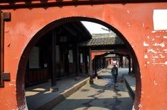 Chengdu, China: Historic Wenshu Temple Royalty Free Stock Photo