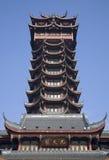 chengdu china jiutian pagoda sichuan tower Στοκ Φωτογραφία