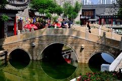 Chengdu, China: Long Tan Water Village Stock Images