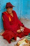 Chengdu, China: Seated Tibetan Monk Stock Images