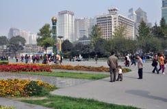 Chengdu, China: Tianfu Square Royalty Free Stock Photo