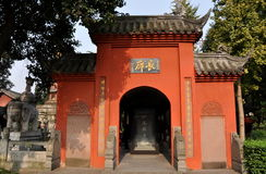 Chengdu, China: Wenshu Temple Stock Photography