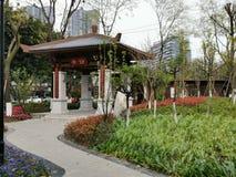 Chengdu Chiny kąt zdjęcie stock