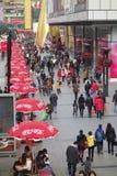 Chengdu chunxi street Stock Image