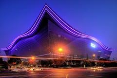 Chengdu global mitt Arkivbilder