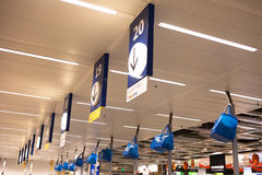 Chengdu IKEA stores in the cashier Stock Images