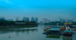 Chengdu. Im take this picture in China in chengdu city Royalty Free Stock Images