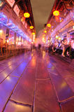 Chengdu jinli old street Royalty Free Stock Images