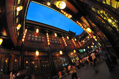 Chengdu jinli old street Stock Image