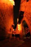 Chengdu jinli old street at night Stock Images