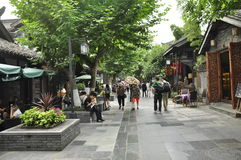 Chengdu Kuanzhai Alley Stock Photos