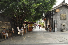 Chengdu Kuanzhai Alley Royalty Free Stock Image