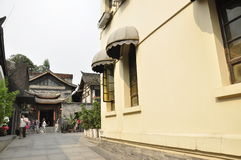 Chengdu Kuanzhai Alley Royalty Free Stock Photos