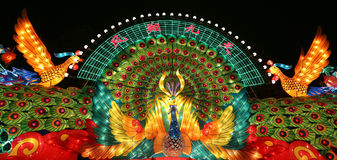 2015 chengdu lantern festival in china Stock Images