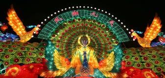 2015 chengdu lantern festival in china Stock Images