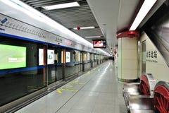 chengdu metro Royaltyfria Bilder