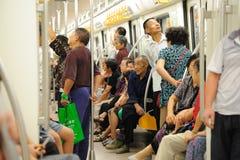 Chengdu metro line 2 Royalty Free Stock Image