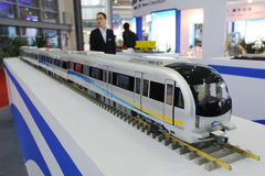 Chengdu metro Model Royalty Free Stock Photos