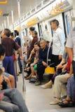 Chengdu metrolinje 2 Royaltyfri Foto