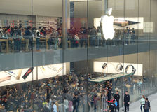 Chengdu opens second Apple store. A second Apple store opened in Taikoo Li in Chengdu, in the Sichuan Province of China Stock Image