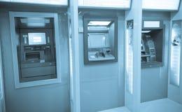 Chengdu, porcelana: Máquinas do ATM Fotos de Stock