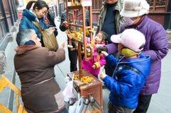 Chengdu-Porzellan: Kindkaufspielwaren Lizenzfreies Stockfoto
