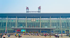 Chengdu railway station Royalty Free Stock Photography