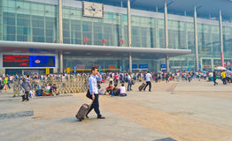 Chengdu railway station Stock Photography