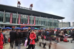 Chengdu Railway station Stock Photo