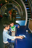 Chengdu science and technology museum in china Royalty Free Stock Images