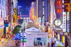 Chengdu Shopping Street Stock Photos