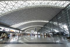 Chengdu Shuangliu International Airport Royalty Free Stock Photo
