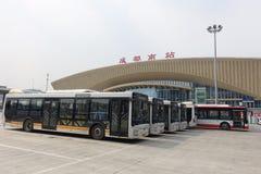 Chengdu South Railway Station Royalty Free Stock Photos