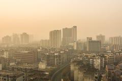 Chengdu sunrise Stock Photo