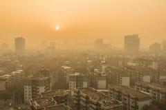 Chengdu sunrise Stock Image