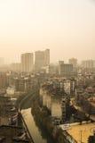 Chengdu sunrise Stock Images
