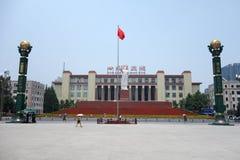 Chengdu-tianfu Quadrat Stockbilder