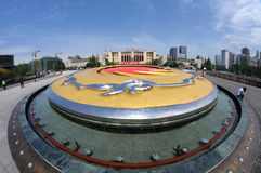Chengdu tianfu square Royalty Free Stock Images