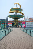 Chengdu tianfu square. Chengdu is the capital of Heavenly State (Tian Fu Zhi Guo),west of china,the tianfu square located center of chengdu stock images