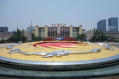 Chengdu tianfu square Royalty Free Stock Image