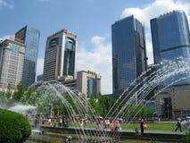 Chengdu tianfu square Royalty Free Stock Photography