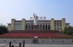 Chengdu Tianfu Square stock photography