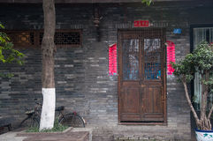 Chengdu width of the alley Royalty Free Stock Photography
