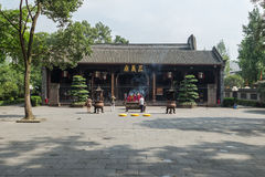 Chengdu wuhou temple temple three righteousness Stock Photo