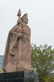 CHENGGU, CHINA - 8. NOVEMBER 2014: Statue von Zhang Qian, Chenggu, Hanz Lizenzfreie Stockfotos