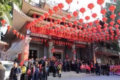 Chengnei  ( xiacheng ) chenghuang temple Stock Photos